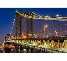 Manhattan Bridge, Study 2 Photographic Print