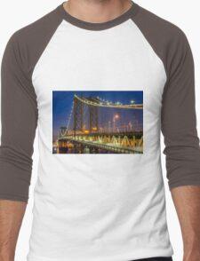 Manhattan Bridge, Study 2 Men's Baseball ¾ T-Shirt