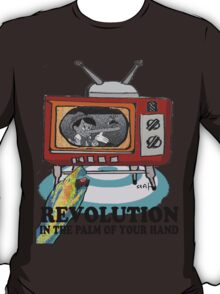 Revolution! in the palm of your hand. T-Shirt