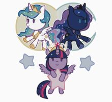 Sun, Moon and Stars by tsurime
