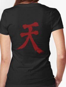 Street Fighter Akuma  Womens Fitted T-Shirt