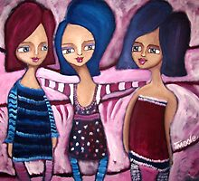 Have you met my friends? by Tracy  Moore