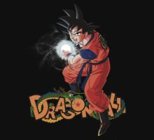 Dragon Ball Goku kamehameha Logo by falcon333