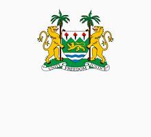 Coat of Arms of Sierra Leone  Unisex T-Shirt