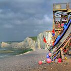 The Fishing Boat - Birling Gap - HDR by Colin J Williams Photography