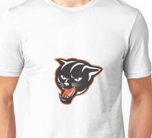 Panther Big Cat Growling Unisex T-Shirt