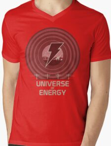 Universe of Energy Mens V-Neck T-Shirt