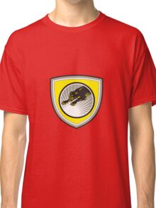 Panther Big Cat Growling Crest Classic T-Shirt