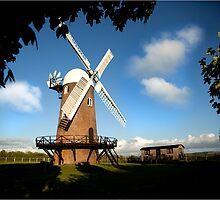 Wilton Windmill evening shadows 2 by J-images