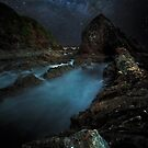 Razor Back By Moon Light by Rodney Trenchard