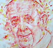 POPE FRANCIS - watercolor portrait.1 by lautir