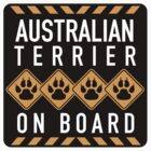 Australian Terrier On Board by SignShop