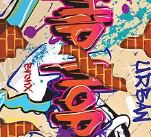 Graffiti wall   by vectorwebstore