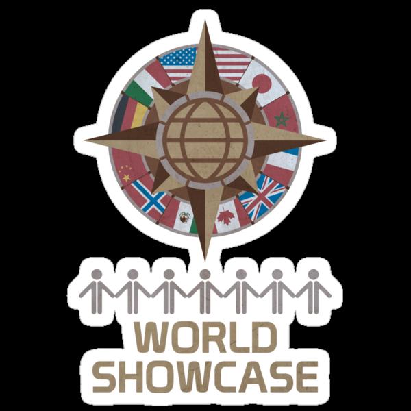 World Showcase by scbb11Sketch