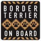 Border Terrier On Board by SignShop