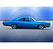 1969 Dodge Charger R/T 'Flex'n Muscle' Photographic Print