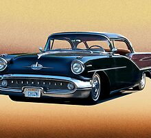 1957 Oldsmobile Custom Studio 4 by DaveKoontz