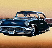 1957 Oldsmobile Custom Studio 4 by DaveKoontz