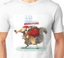CHRISTMAS ICE AGE SCRAT STYLE Unisex T-Shirt