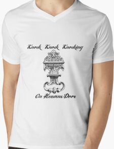 Knocking on Heavens Door Mens V-Neck T-Shirt