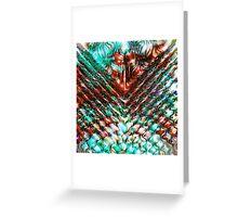 Rippling reflection Greeting Card