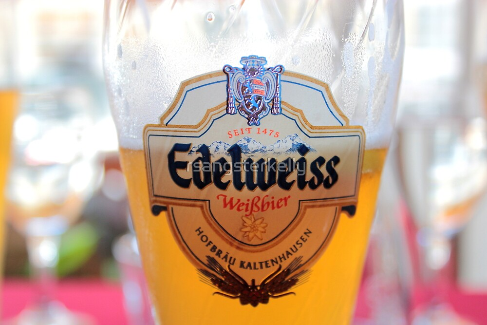 Pint of Edelweiss Hefetrüb by rsangsterkelly