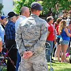 At Ease! Memorial day service by Jeff Stroud