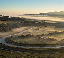 Daybreak - Cuckmere Valley by TimKing