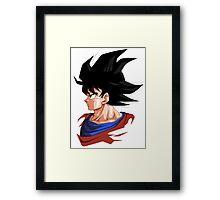 Son Goku Dragon Ball Framed Print