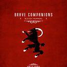 Brave Companions Iphone Case by liquidsouldes