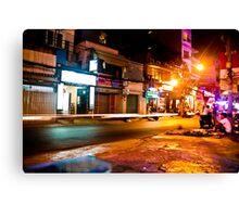 Saigon nights Canvas Print