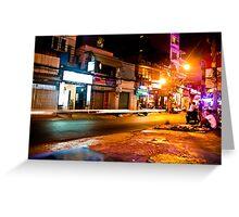 Saigon nights Greeting Card