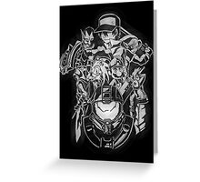 BELIEVE IN HEROES poster edition Greeting Card