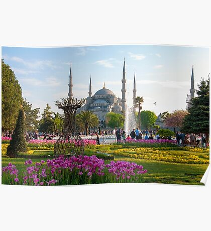 The Blue Mosque Poster