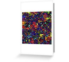 Abstrakt Greeting Card