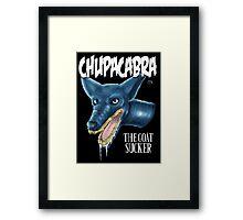 Chupacabra  Framed Print