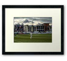 Scoreboard & North West Terrace Framed Print