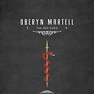 Oberyn Martell iPhone Case by liquidsouldes
