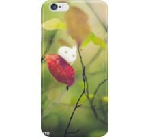 The first autumn leaf - Wandering forest 4 iPhone Case/Skin