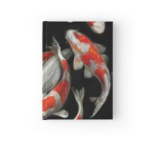 Koi Fish Hardcover Journal