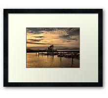 Bay in San Francisco Framed Print