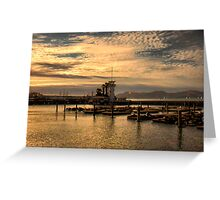 Bay in San Francisco Greeting Card
