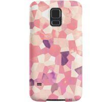 Mod Geometric Abstract Pattern Pink Retro Pastel Samsung Galaxy Case/Skin
