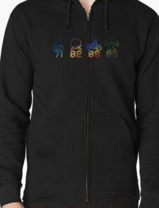 Four Parks Tribute Zipped Hoodie