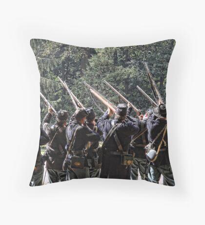 Ready, set, aim, fire! Throw Pillow