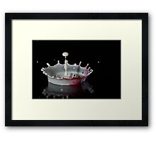 Tricolore Framed Print