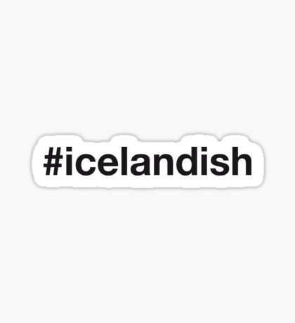 ICELANDISH Sticker