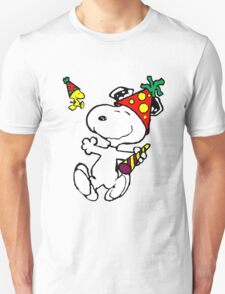 Happy Snoopy New Year T-Shirt