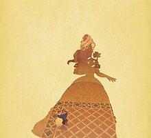 Belle - Beauty & The Beast - Disney Inspired by still-burning