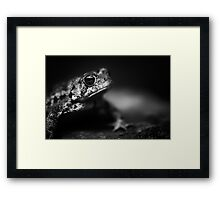 Eyes betray the soul and bare its thinking Framed Print